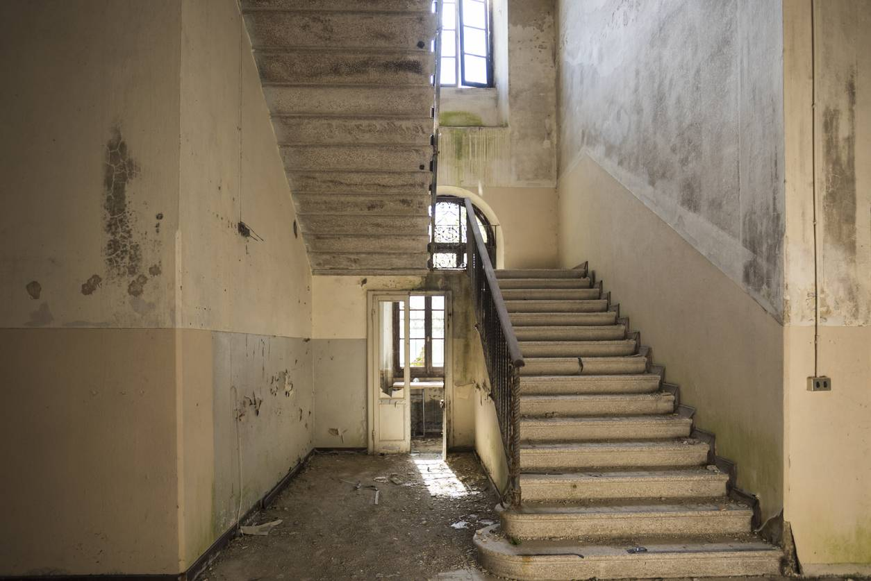 Rénovation cage d'escalier'