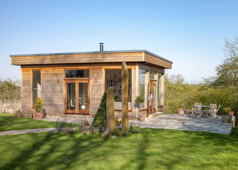 Studio de jardin ossature bois