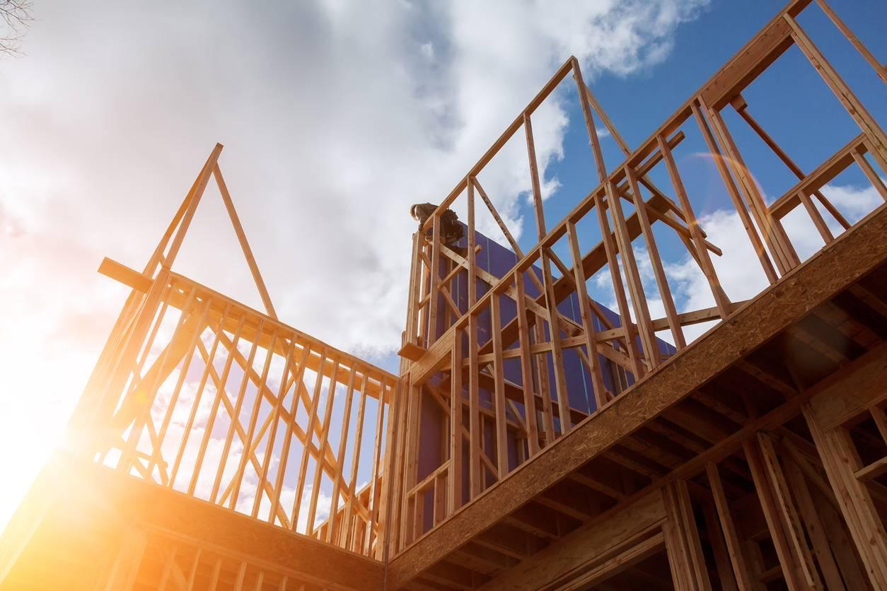 Construction d'une ossature bois