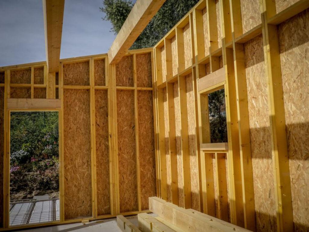 Exemple de structure en ossature bois pour un agrandissement