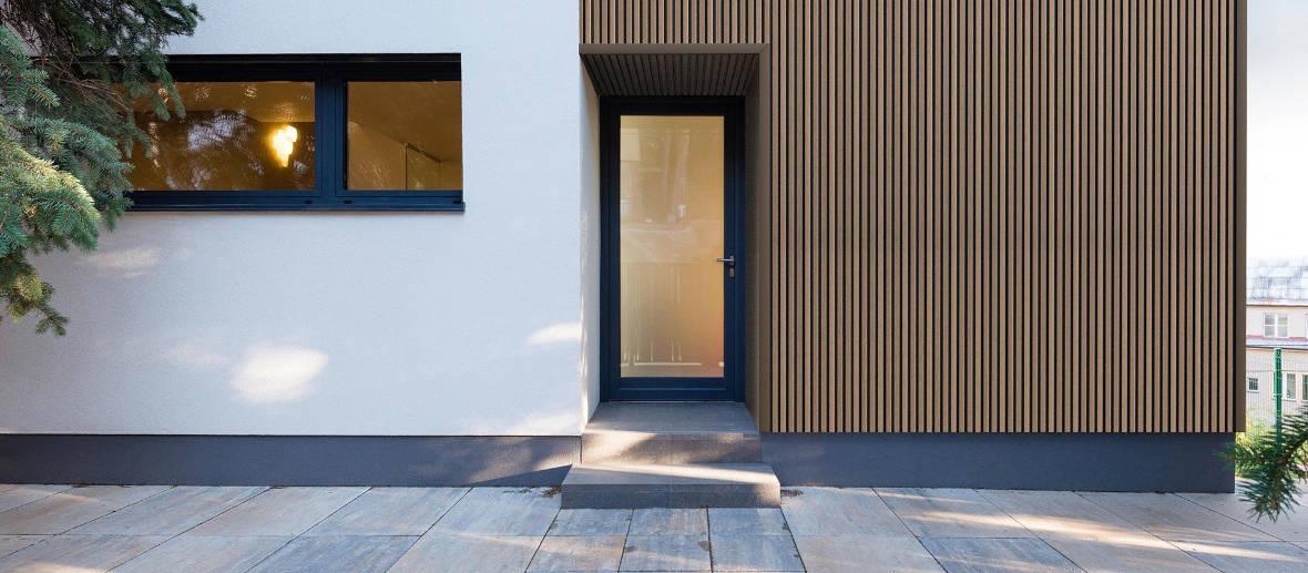 Maison contemporaine avec bardage composite