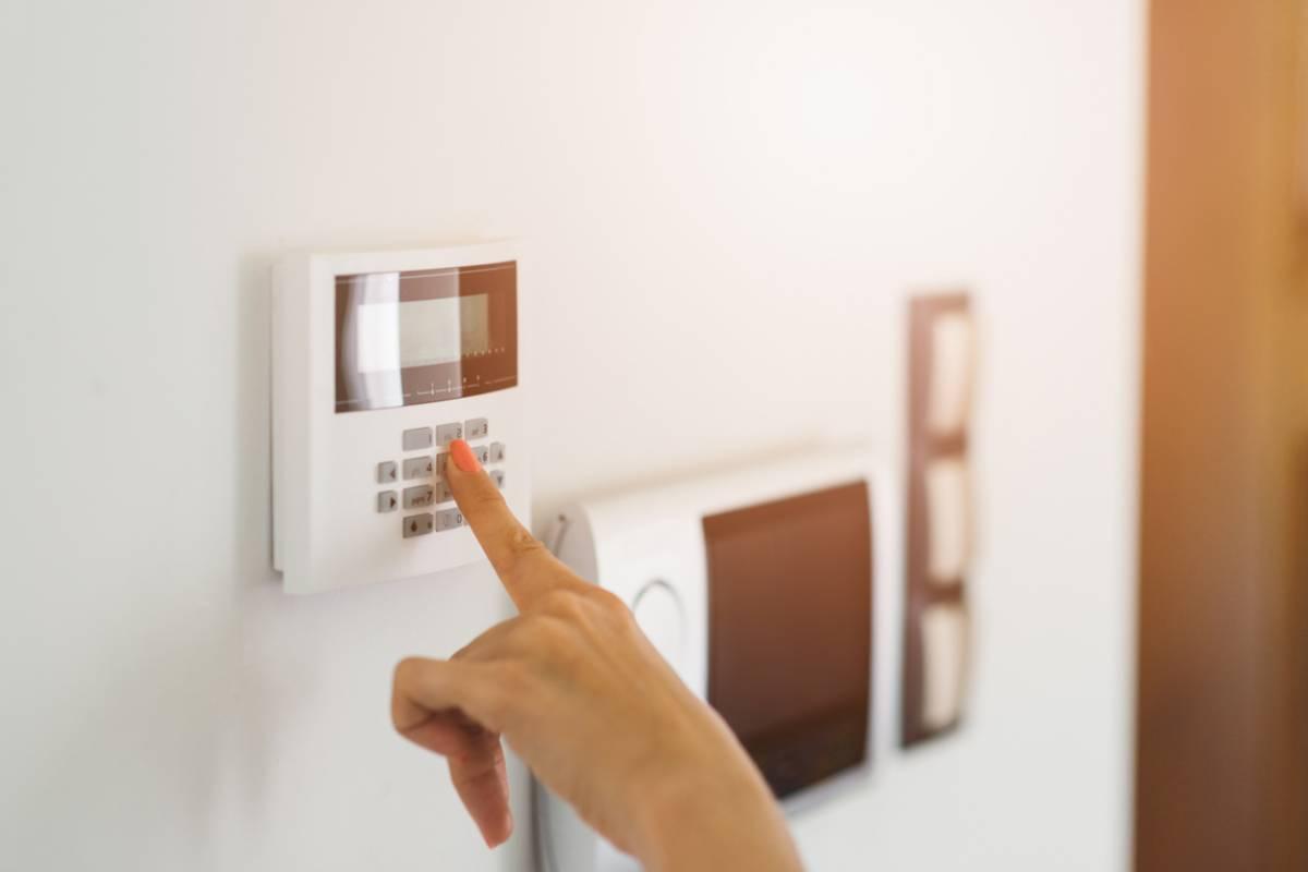 Système d'alarme maison
