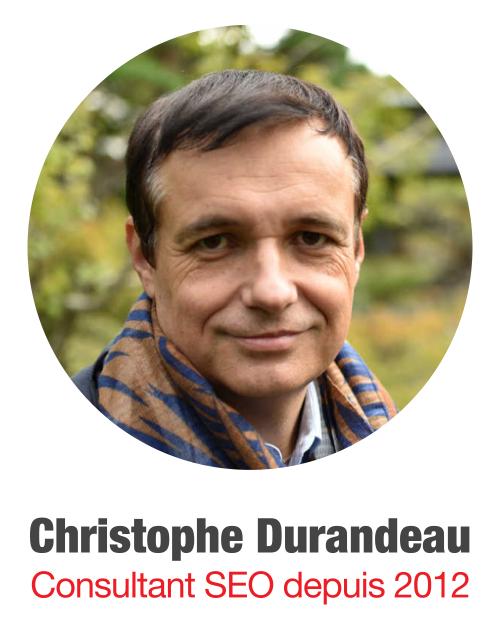 Christophe Durandeau, Consultant SEO depuis 2012