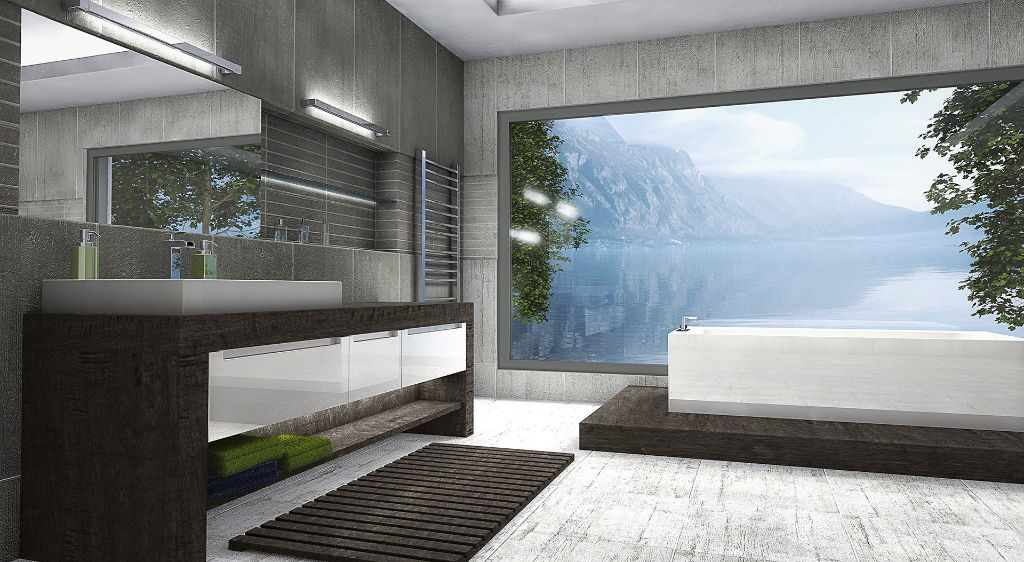 Parce qu'il est possible de les fabriquer en grandes dimensions, les fenêtres alu font la part belle aux apports de lumière