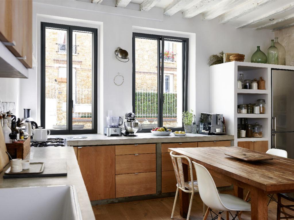 Fenêtre aluminium, élégante et moderne