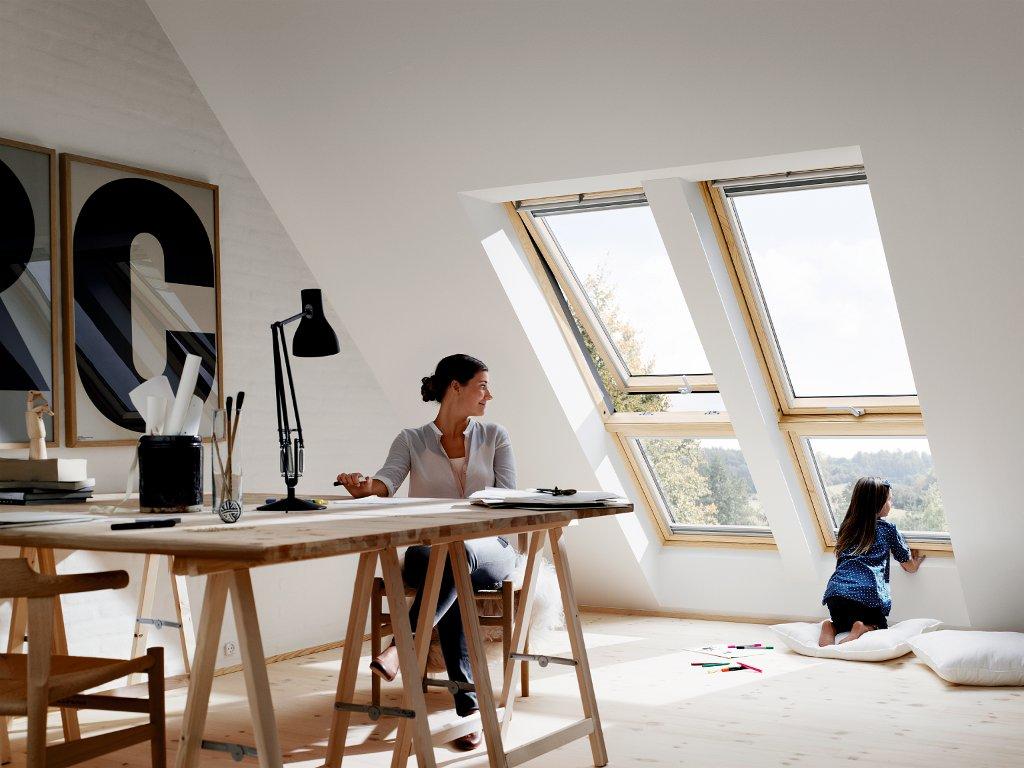 Fenêtre dans les combles : comment amener de la lumière