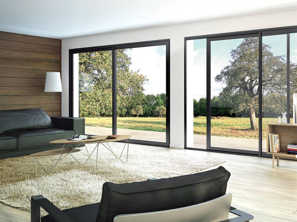 Fenêtre salon : place à la lumière naturelle