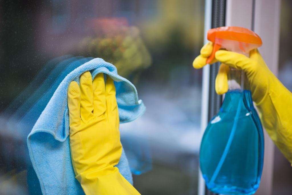 La fenêtre PVC est très facile d'entretien, un coup d'éponge suffit