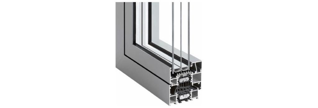 Profil de fenêtre aluminium