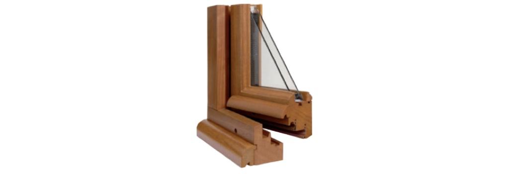 Profil de fenêtre bois