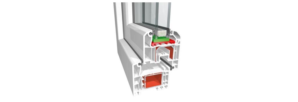 Profil de fenêtre PVC