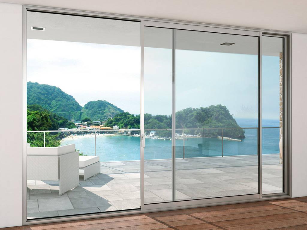 Baie vitrée aluminium, bois ou PVC ?