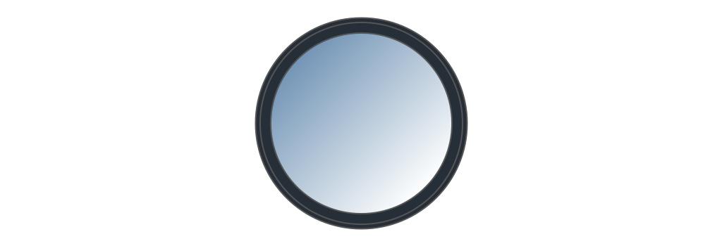 Fenêtre ronde sur mesure