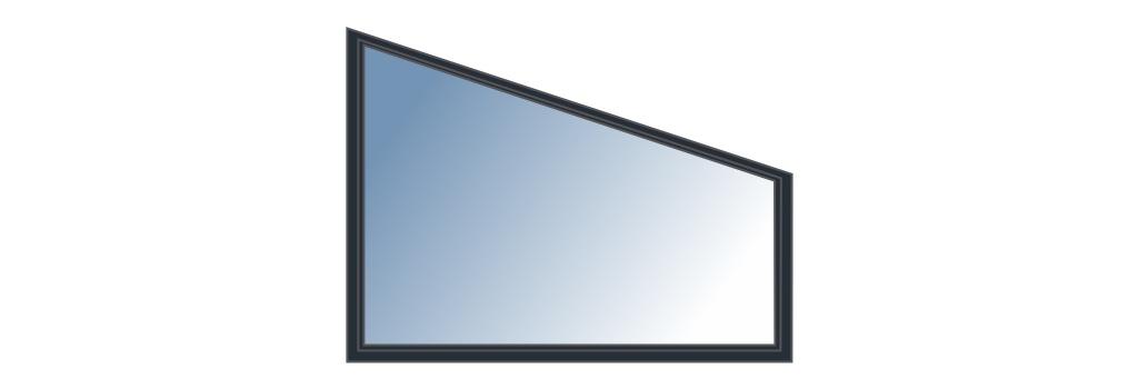 Fenêtre trapèze sur mesure