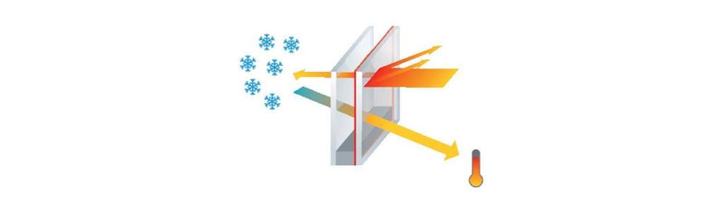 Principe du vitrage thermique